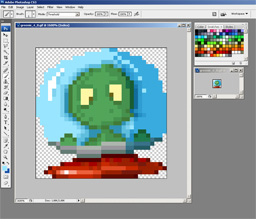 Drawing the sprite