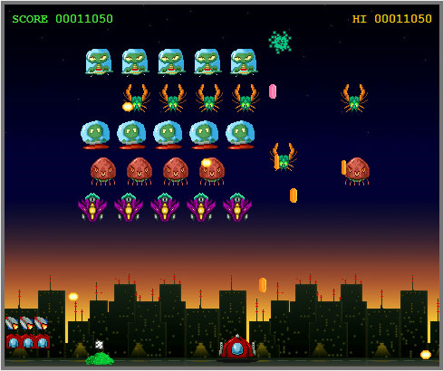 Invaders from Mars - new screen shot
