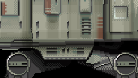 Detail of AT-AT sprite