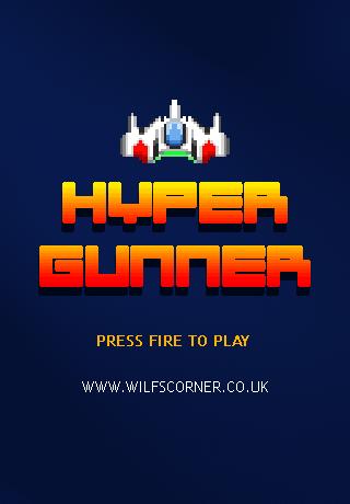 hypergunner title graphic